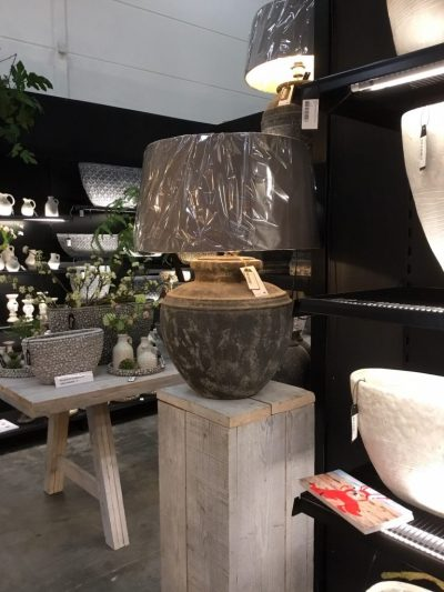 Keramiklampen m. versch. Schirmen - Roberts Collection